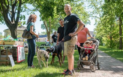 Niagara Pet Photographer: Dog Day in the Park