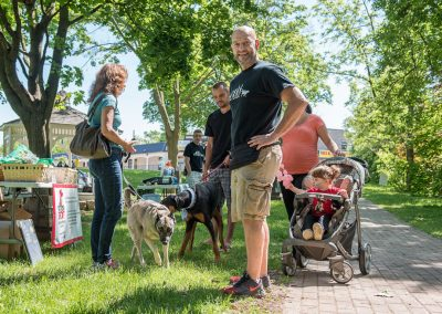 Dog Day in the Park 2015 organizer Wes Puffer