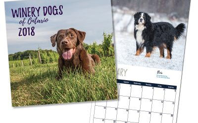 Winery Dogs of Ontario Calendar