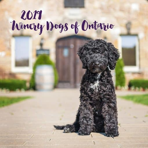 2019 Winery Dogs of Ontario calendar